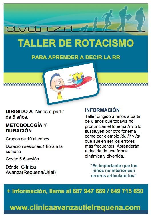 TALLER DE ROTACISMO