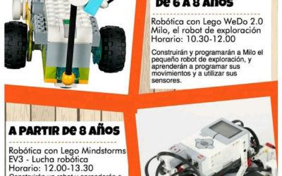 Talleres de robótica en Requena