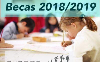 Becas 2018-2019